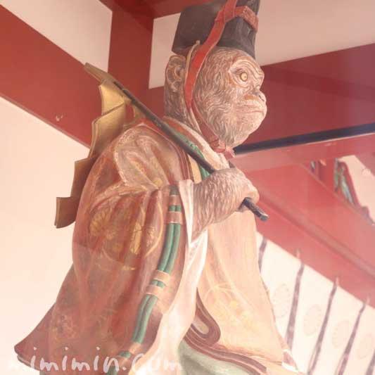 神猿像|日枝神社(ひえじんじゃ)の写真