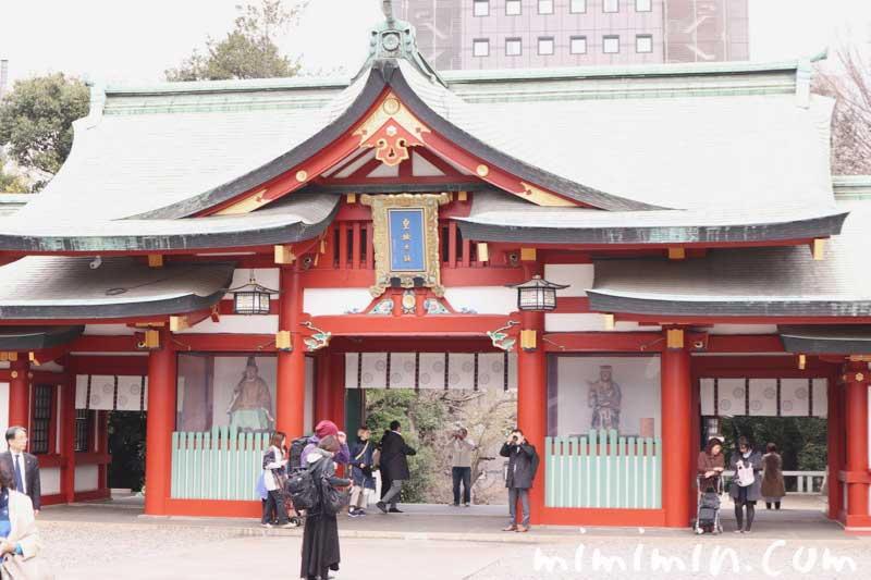 日枝神社(ひえじんじゃ)の写真