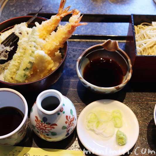 天丼+せいろ蕎麦|蕎麦処 吉田家 港北インターチェンジ店の写真