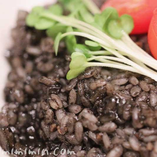 イカ墨入りカラスミリゾットの簡単レシピ