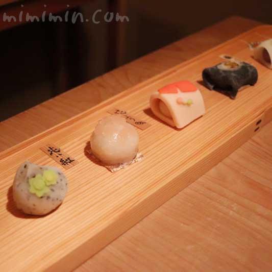 お饅頭|恵比寿くろいわの懐石料理 4月
