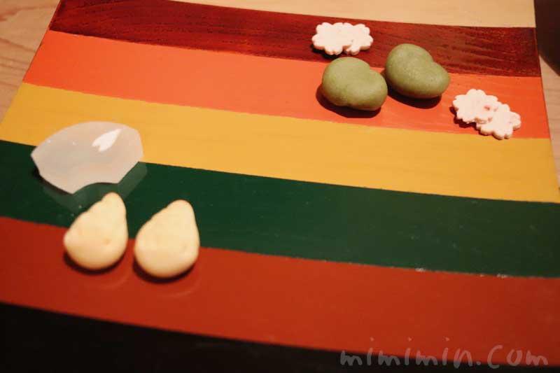 千菓子|くろいわ 懐石料理 4月の画像