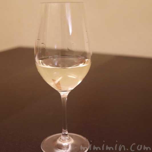 白ワイン|京しずくのディナーの画像