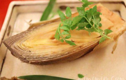 筍|京しずくの個室でディナーの画像