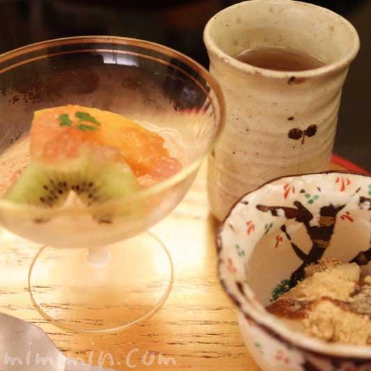 デザート|京しずくのディナーの画像