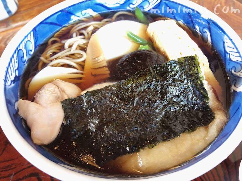 竹扇(ちくせん)のちからそば | 鎌倉の蕎麦屋の写真