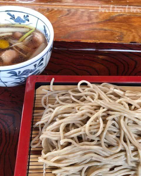 竹扇(ちくせん)の鴨せいろ | 鎌倉の蕎麦屋