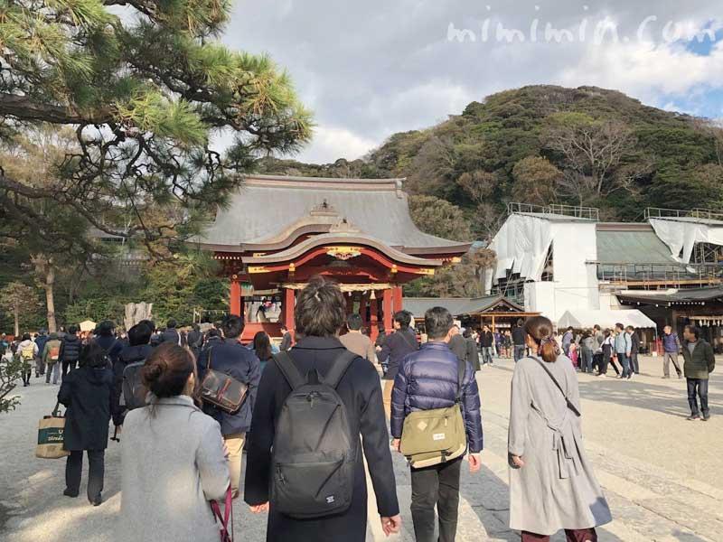 鎌倉の写真の鶴岡八幡宮