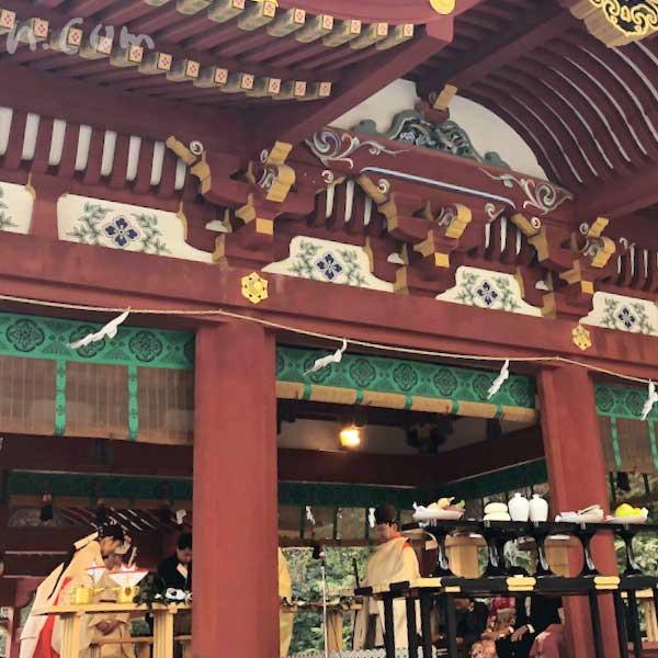 鶴岡八幡宮 結婚式の画像