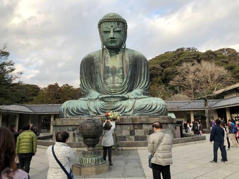 鎌倉大仏殿高徳院(鎌倉の写真)