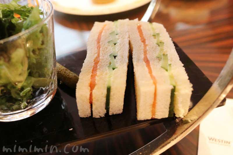 サンドイッチ|ウェスティンホテル東京のティータイムセットの画像