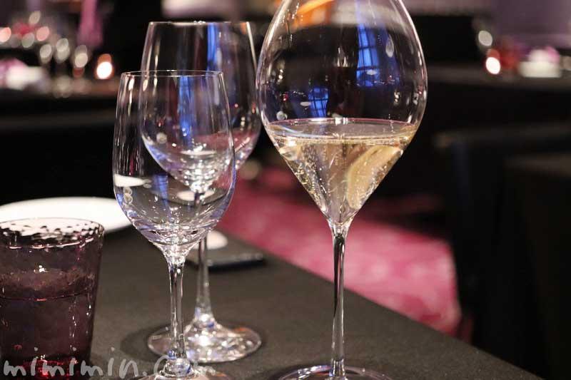 シャンパン|ラ ターブル ドゥ ジョエル・ロブションでディナー(乾杯シャンパン&フリーフロー)の写真