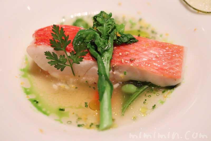 魚料理|ラ ターブル ドゥ ジョエル・ロブション(乾杯シャンパン&フリーフロー)の画像