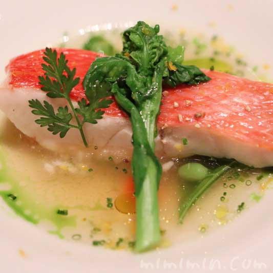 魚料理|ラ ターブル ドゥ ジョエル・ロブションでディナー(乾杯シャンパン&フリーフロー)の画像