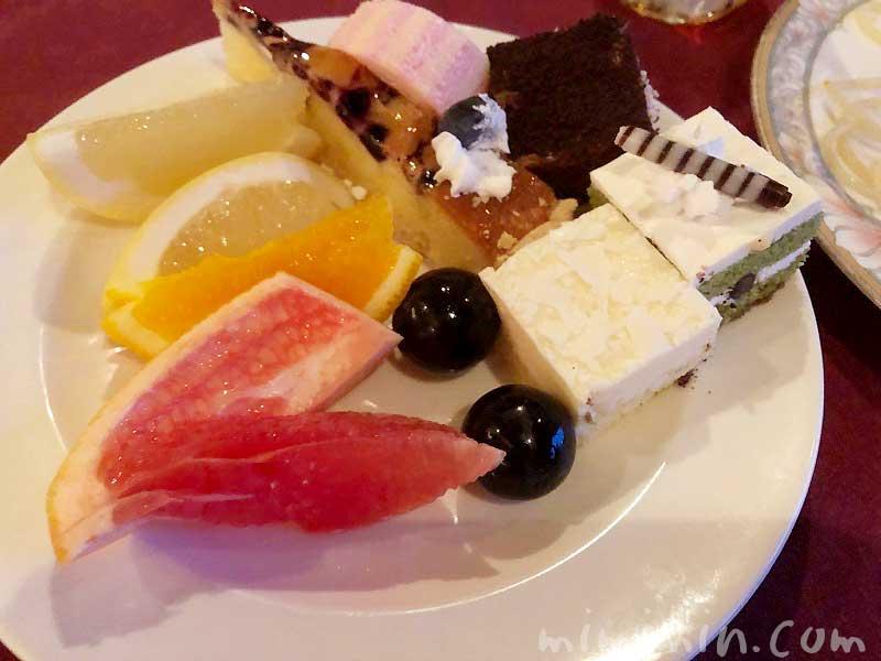 マリーンルージュ ビュッフェ デザートの写真