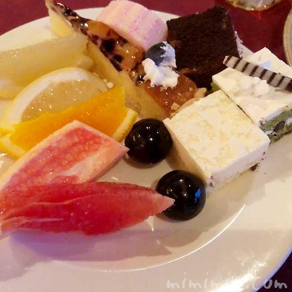 マリーンルージュ ビュッフェのデザート