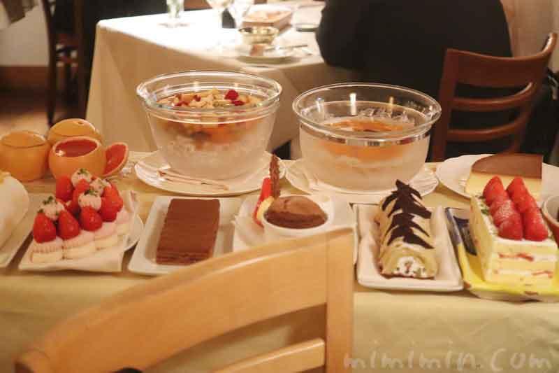 デザートワゴンアッピア本店でディナー(3回め)|広尾のイタリアンの写真