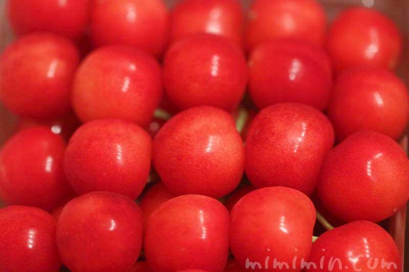 さくらんぼ・紅秀峰 2Lサイズの特秀の画像