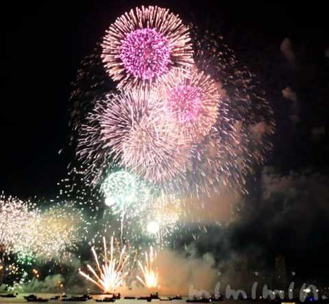 ロイヤルウイング花火クルーズ・みなとみらいスマートフェスティバル2019