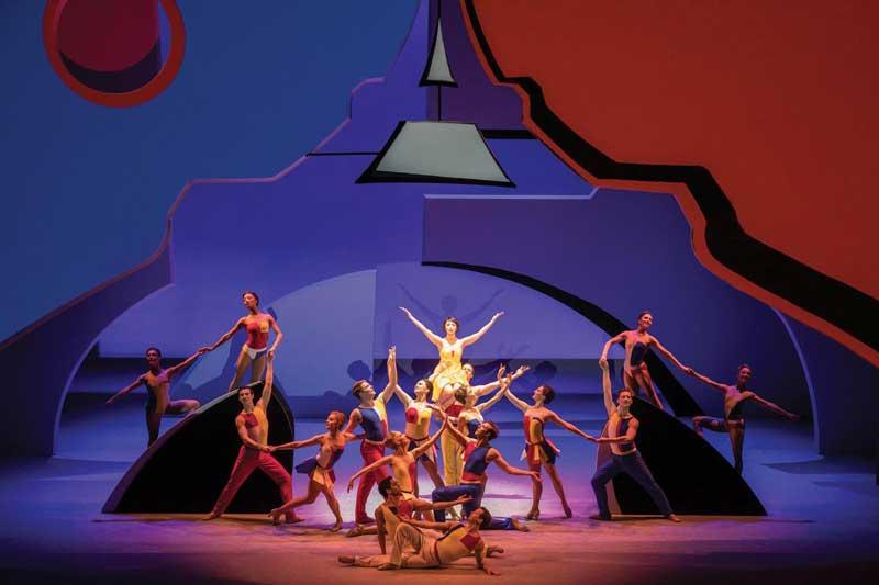劇団四季「パリのアメリカ人」の写真