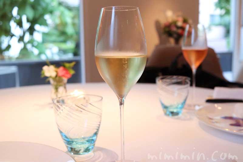 シャンパン|アムールでディナーコース|恵比寿のフレンチの画像