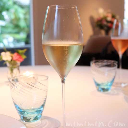シャンパン|アムールでディナーコース|恵比寿の画像