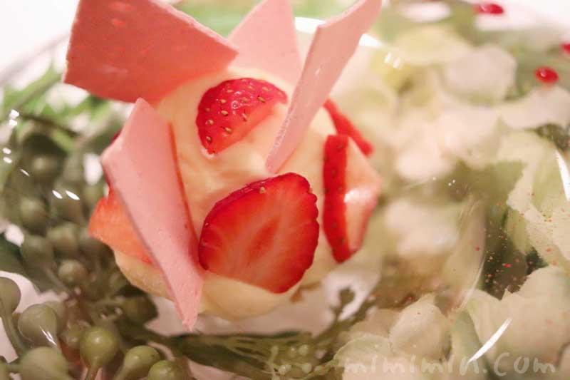 アムール|恵比寿のフレンチのコースのデザートの写真
