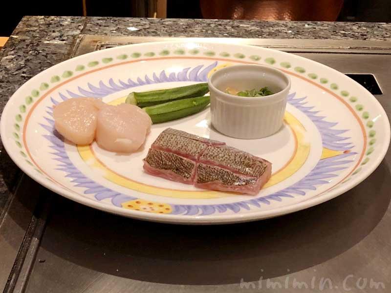 魚介|鉄板焼き 恵比寿のディナー(ウェスティンホテル東京)の画像
