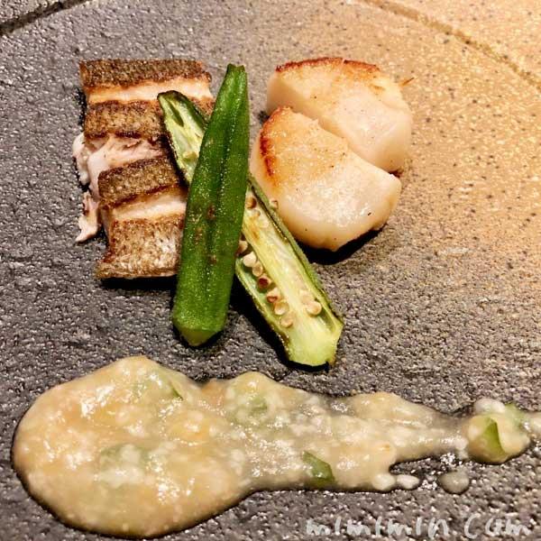 魚の鉄板焼|鉄板焼き 恵比寿のディナーの写真