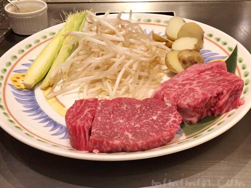 恵比寿牛|鉄板焼き 恵比寿のディナー(ウェスティンホテル東京)の写真