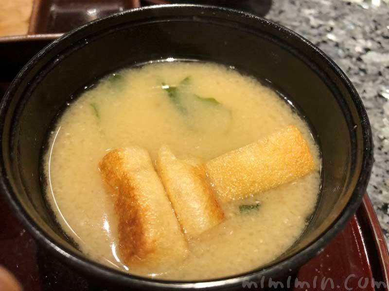 味噌汁|鉄板焼き 恵比寿のディナーの写真