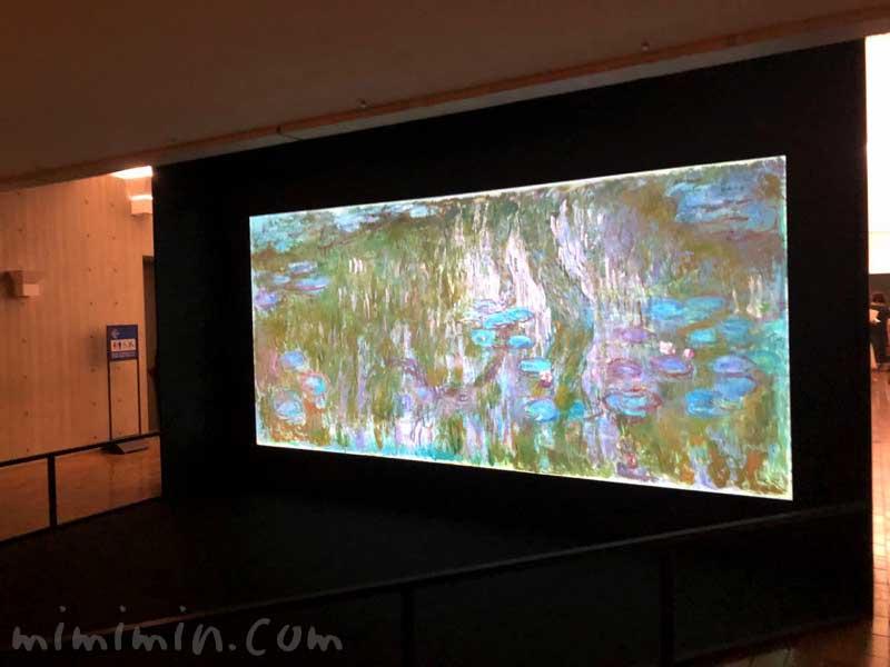 松方コレクション展|モネ「睡蓮、柳の反映」の写真