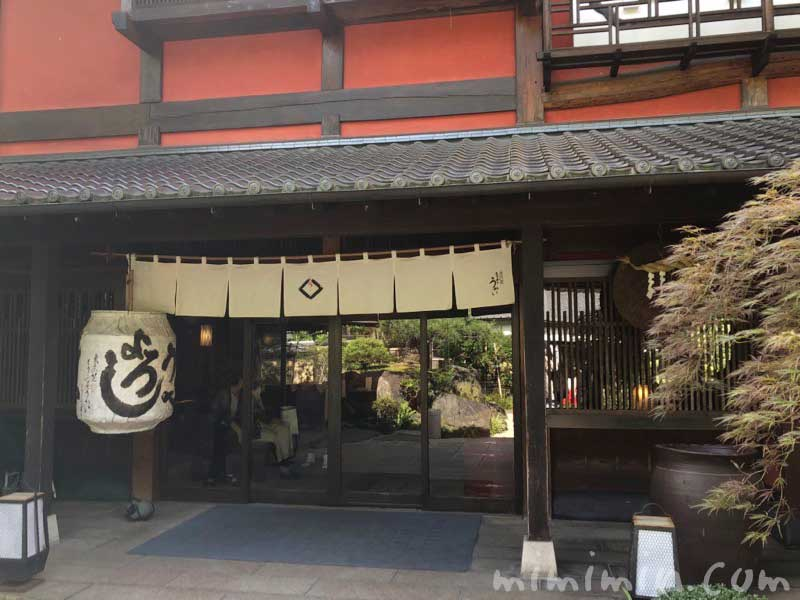 東京 芝 とうふ屋うかいの入り口の画像