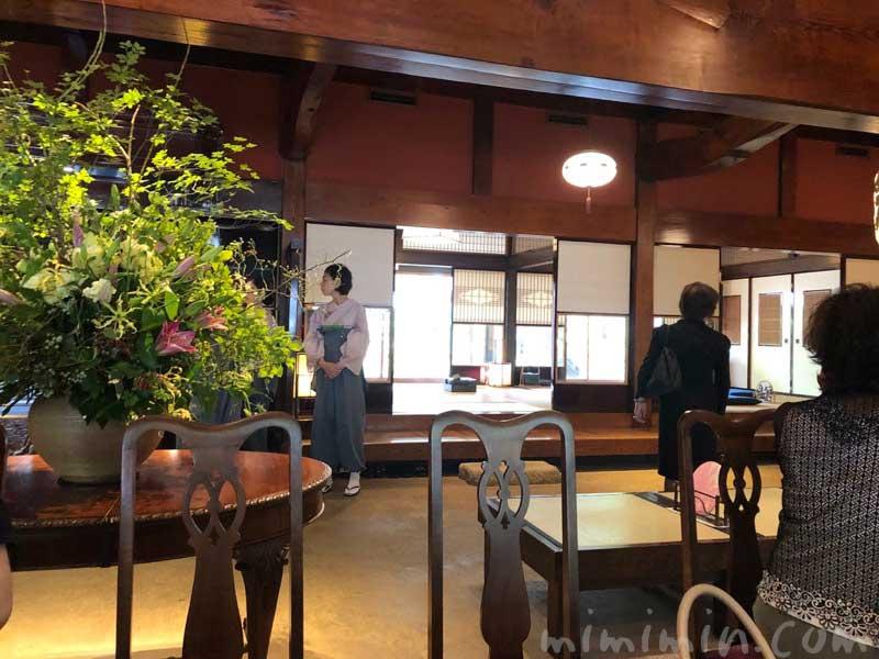 東京 芝 とうふ屋うかいのフロントの写真