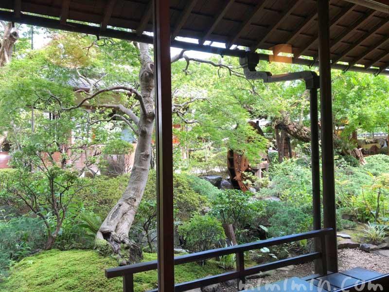 東京 芝 とうふ屋うかいの庭の写真