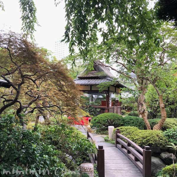 東京 芝 とうふ屋うかい 庭園