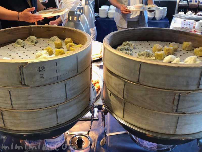 ロイヤルウイングの中華ビュッフェ