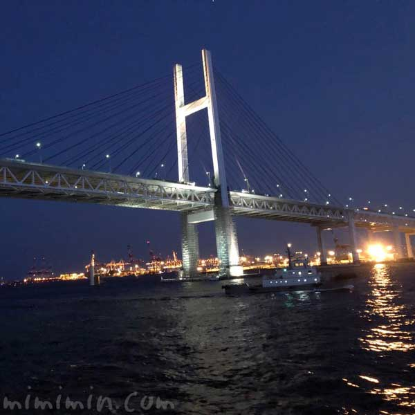 横浜ベイブリッジ 夜景