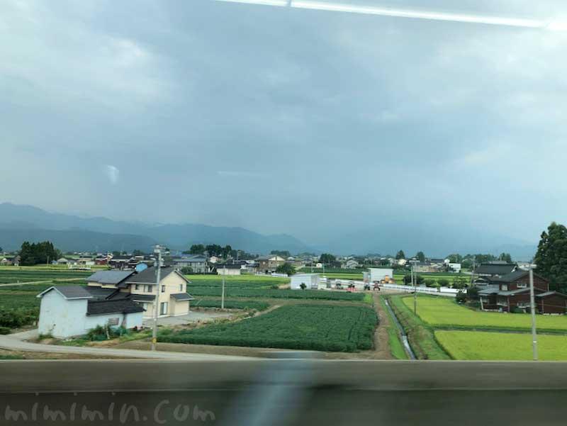 北陸新幹線 車窓の風景