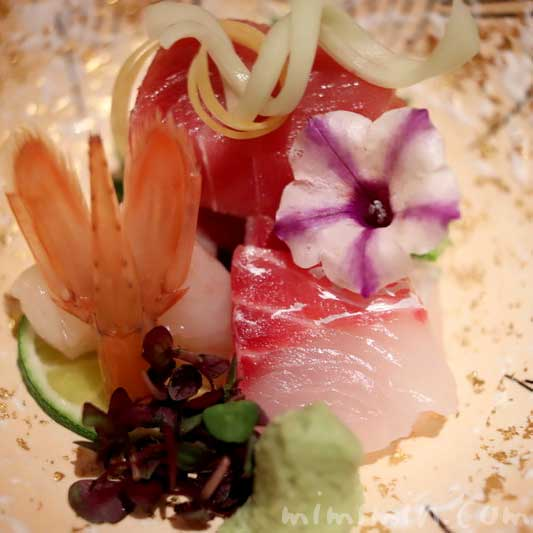 お造り 3種盛り合わせ 日本料理 舞の画像