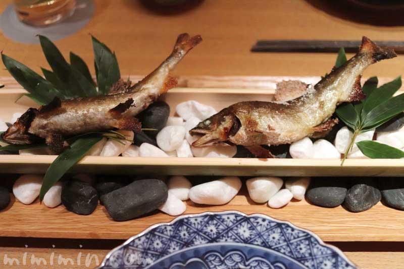 鮎塩焼き|日本料理 舞・凛懐石の画像