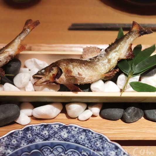 鮎塩焼き|日本料理 舞の写真