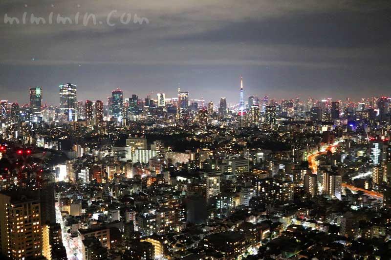 恵比寿ガーデンプレイスの夜景 ウェスティンホテル東京の写真