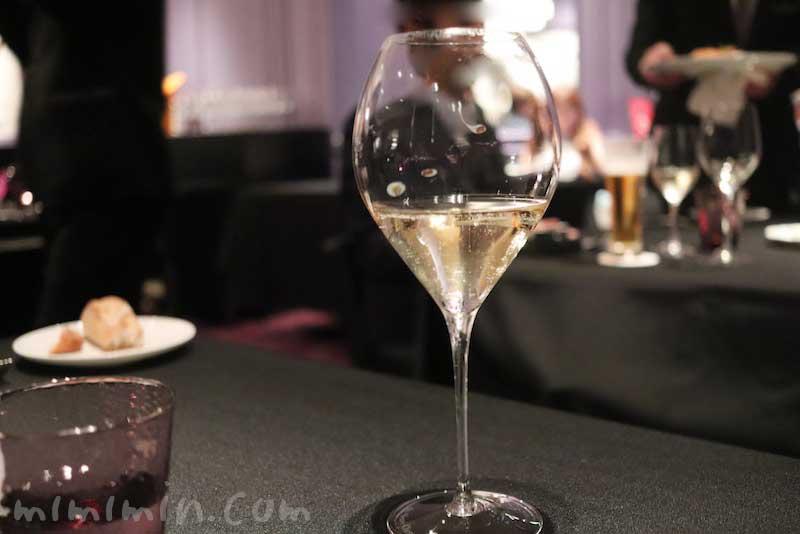 シャンパン|ラ ターブル ドゥ ジョエル・ロブション(恵比寿)のディナーの画像