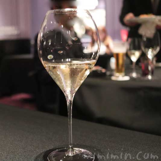 シャンパン|ロブション(恵比寿)のディナーの画像