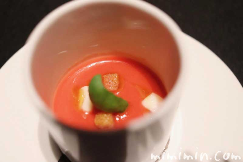 アミューズ ブーシュ|ラ ターブル ドゥ ジョエル・ロブション(恵比寿)のディナーの画像