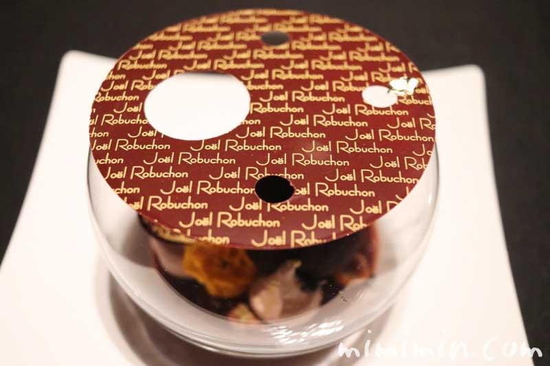 ショコラ センセーション なめらかなグアナジャのクリームと練乳のグラス|ラ ターブル ドゥ ジョエル・ロブション(恵比寿)の画像