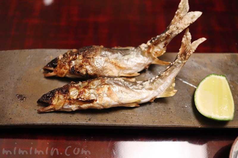 鮎の塩焼き|麻布かどわきの写真