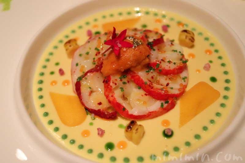 前菜|ガストロミー ジョエル・ロブションでディナーの写真