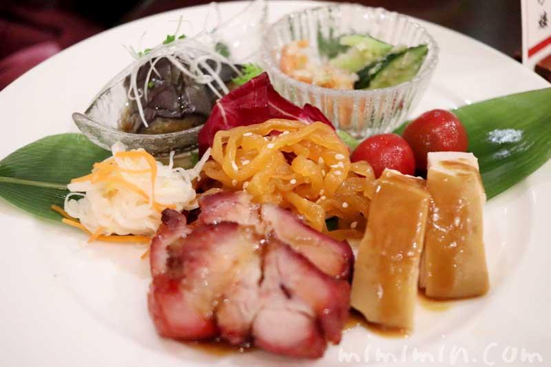 吉祥前菜盛り合わせ|萬珍樓 本店のランチ|横浜中華街の画像